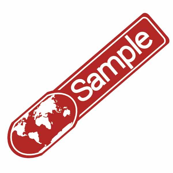Sample bestellen FBA